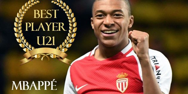 Mbappe Awarded the Best U21 Player in the World