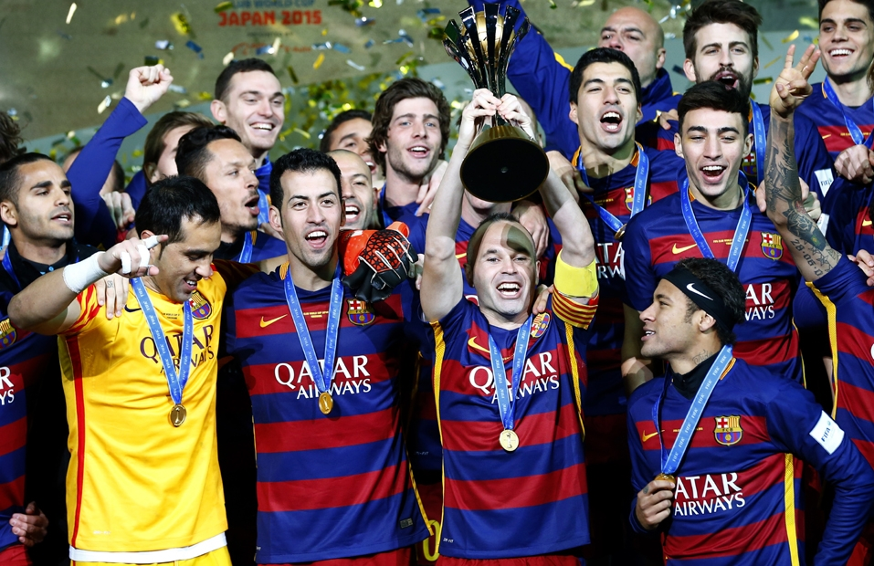Barcelona beats River Plate 3-0 in Club World Cup final