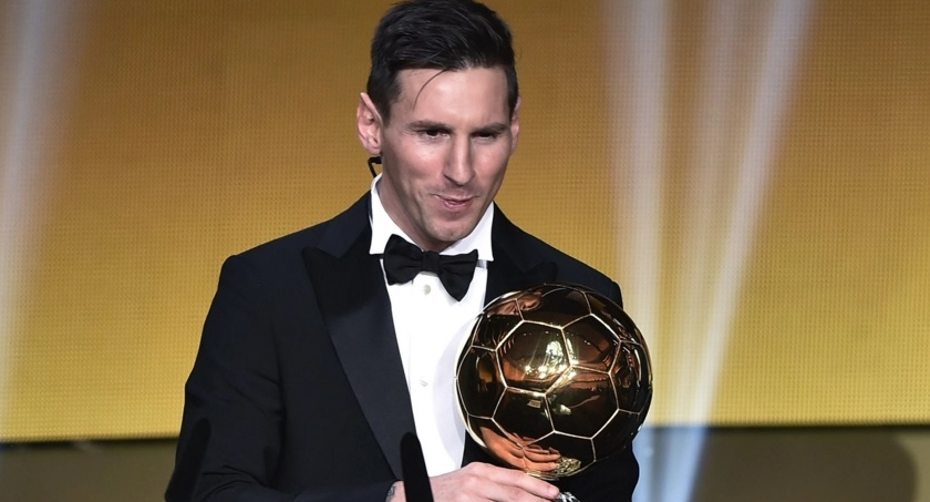 Messi Wins FIFA Ballon D'Or